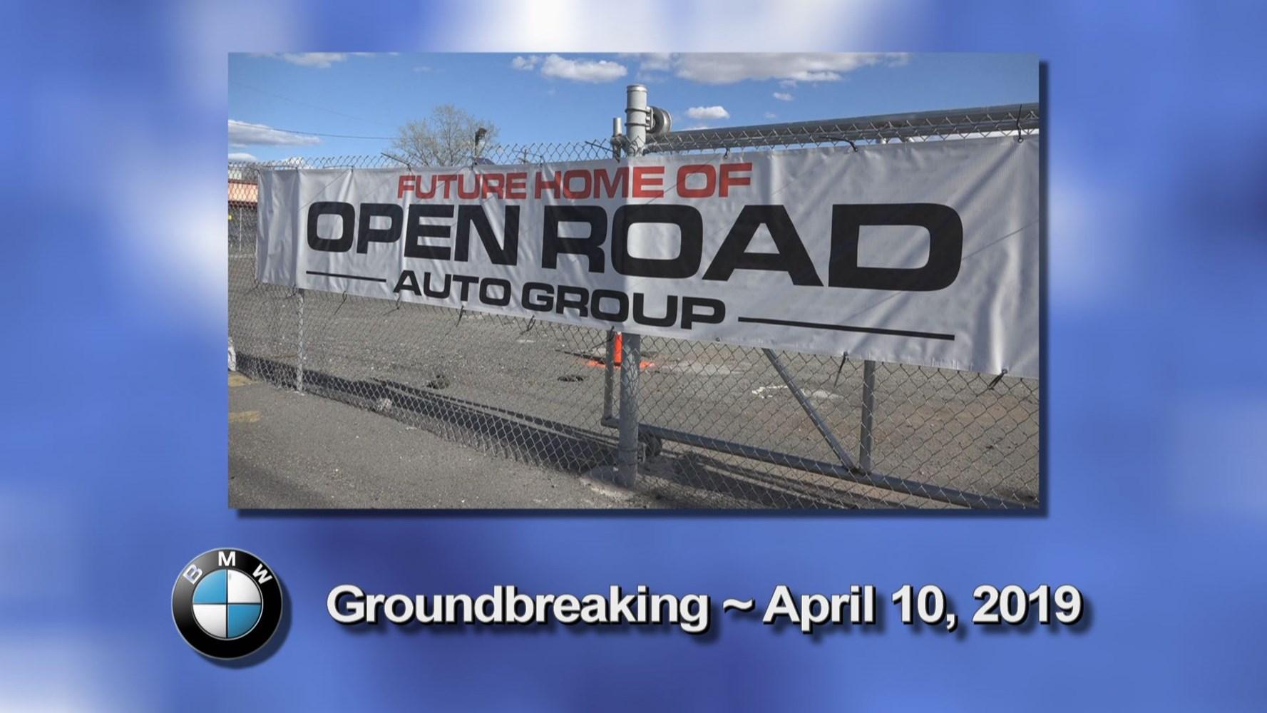 Open Road Bmw >> Open Road Bmw Groundbreaking Ceremony